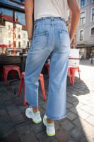 jeans clair taille haute de les bourgeoises