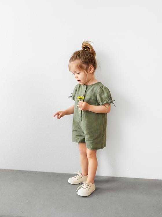 combi-short a surpiqures de Zara sur SCANDALOOK
