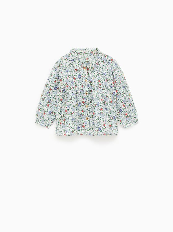chemise imprimee de Zara sur SCANDALOOK