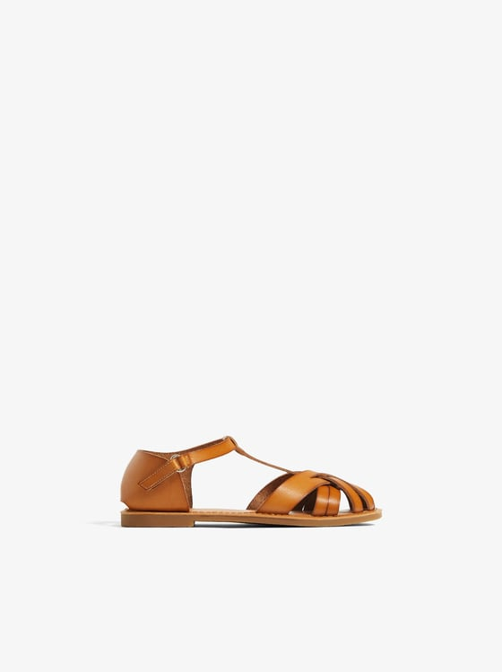 sandales a brides de Zara sur SCANDALOOK