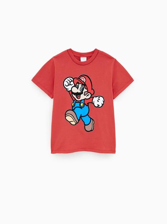 t-shirt super mario bros de Zara sur SCANDALOOK
