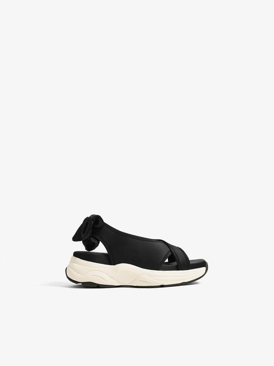 sandales techniques de Zara sur SCANDALOOK