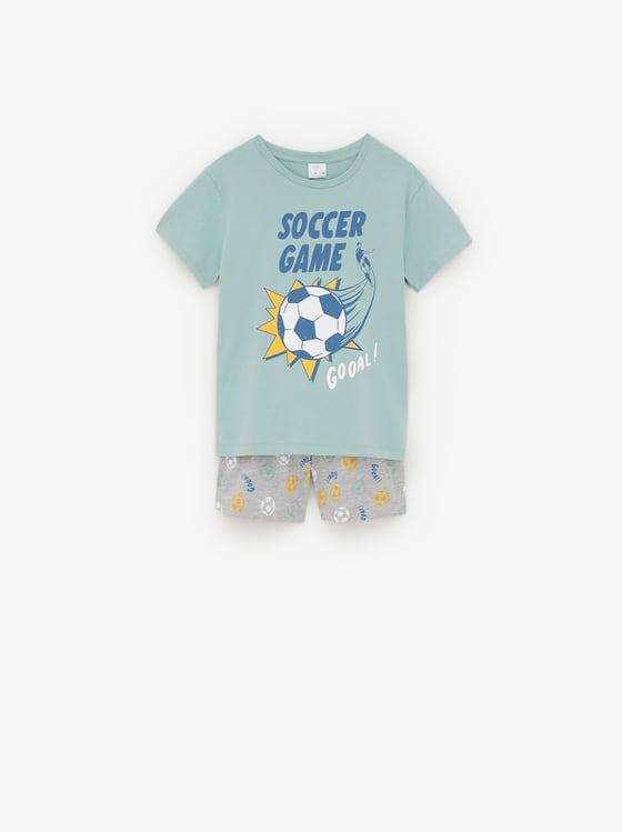 pyjama football de Zara sur SCANDALOOK