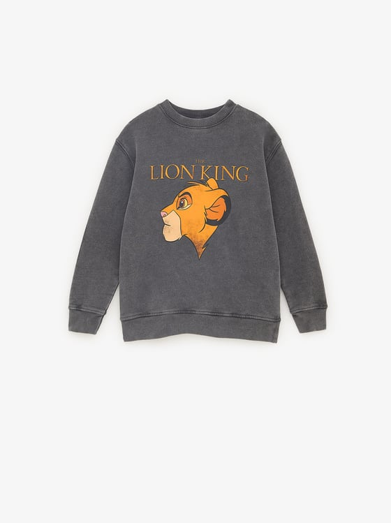 sweat le roi lion de Zara sur SCANDALOOK