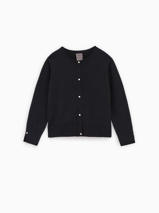 veste en maille basique de Zara sur SCANDALOOK