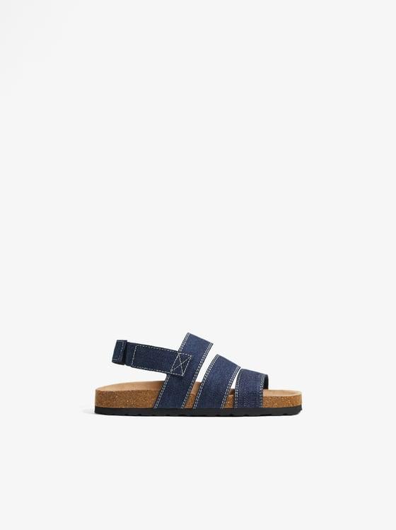 sandales en tissu de Zara sur SCANDALOOK