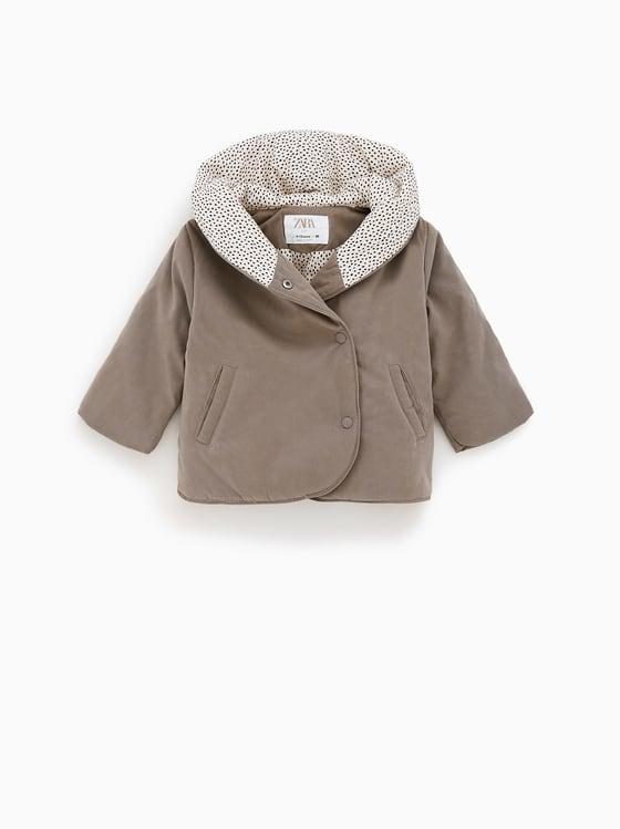 manteau enveloppant de Zara sur SCANDALOOK