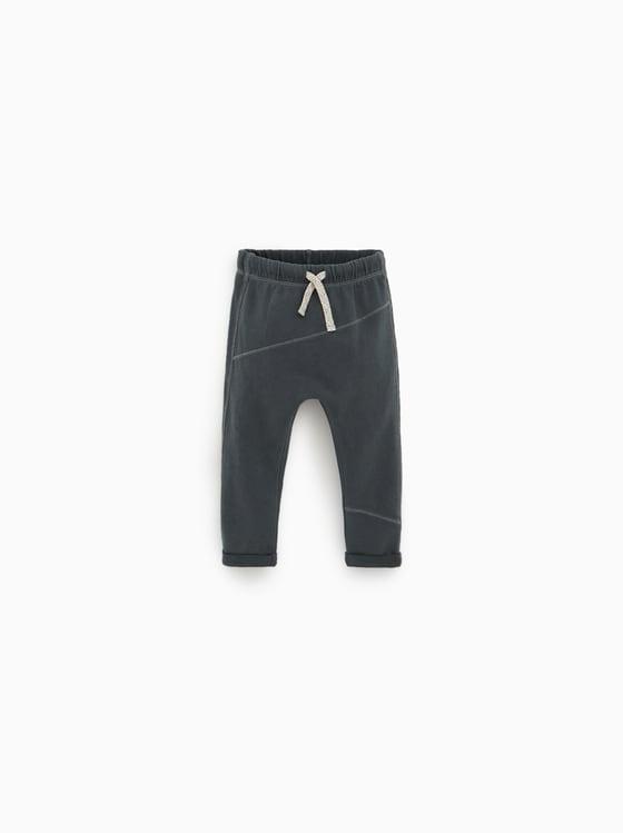 pantalon a coutures de Zara sur SCANDALOOK