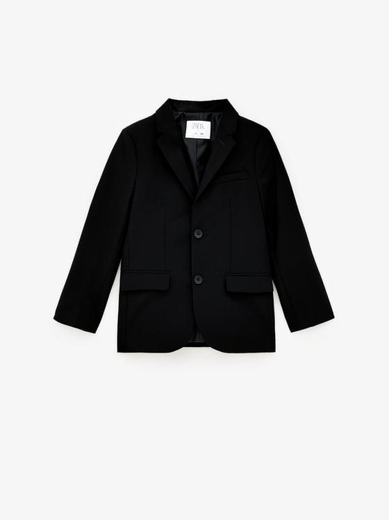 veste de costume basique de Zara sur SCANDALOOK
