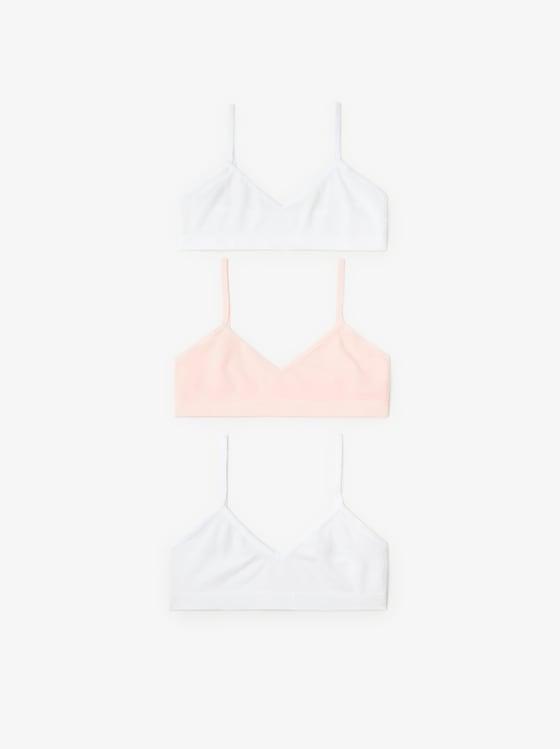 lot de trois tops sans coutures de Zara sur SCANDALOOK