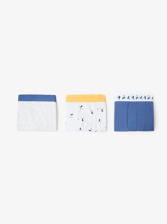 lot de trois boxers football de Zara sur SCANDALOOK