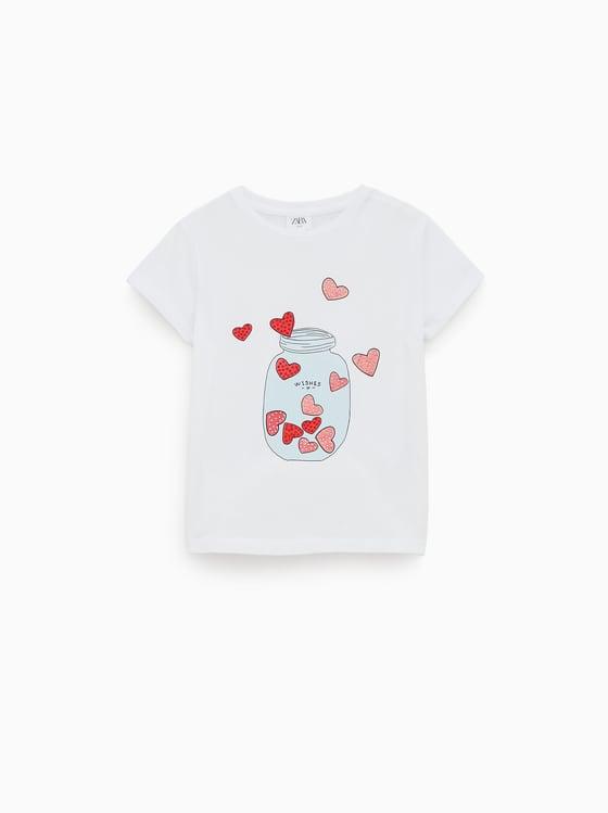 t-shirt brillant de Zara sur SCANDALOOK
